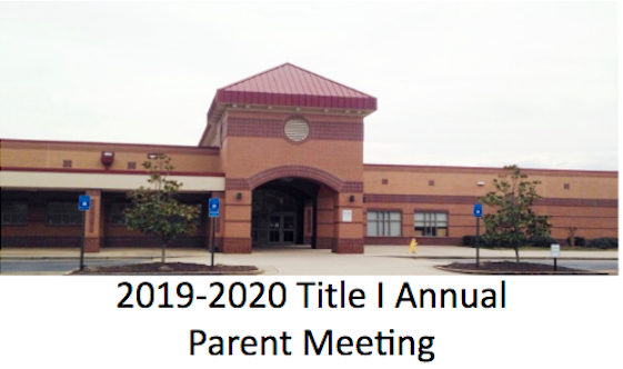 2019-2020 Title 1 Annual Parent Meeting