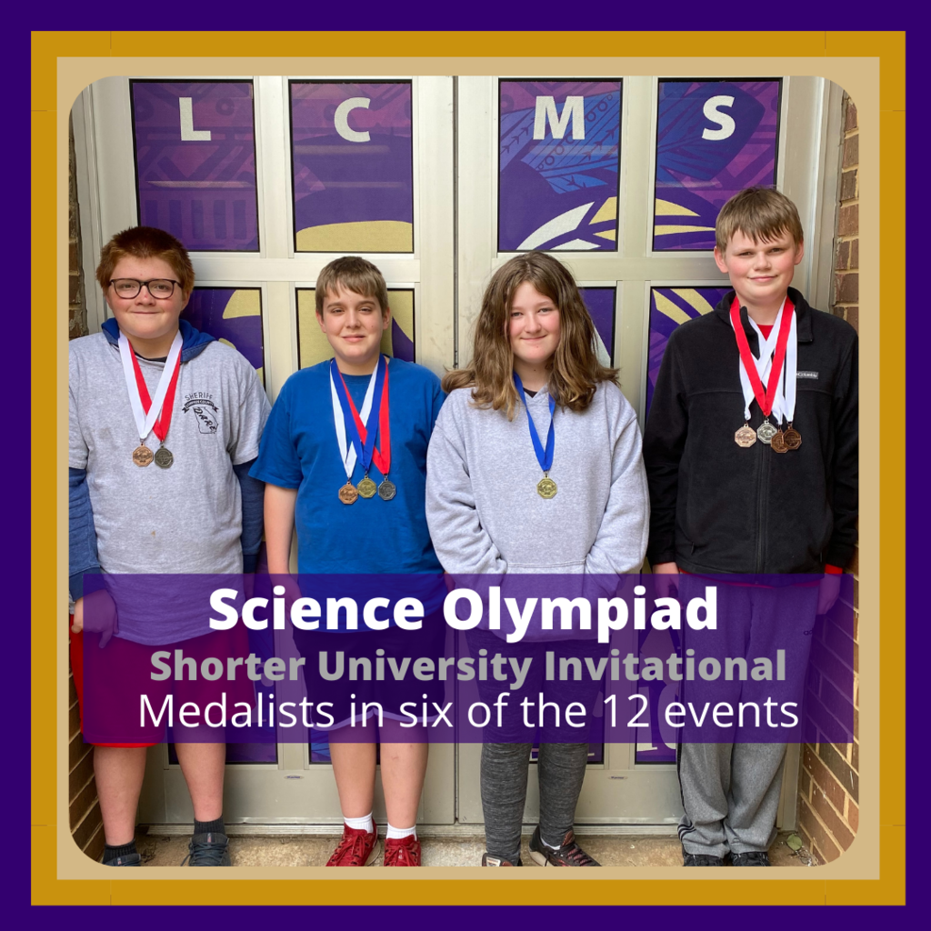 Science Olympiad Winners in Invitational