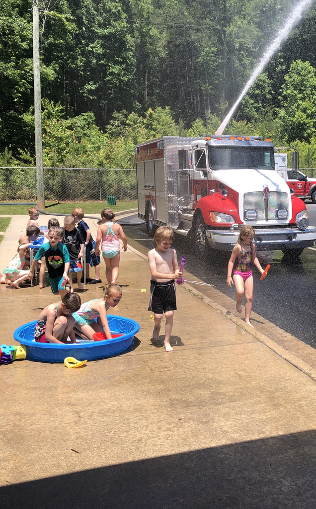 Kindergarten water day