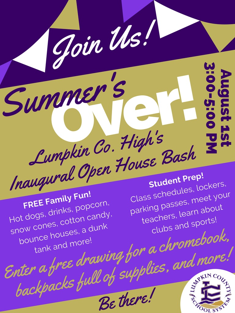 Flyer for Open House