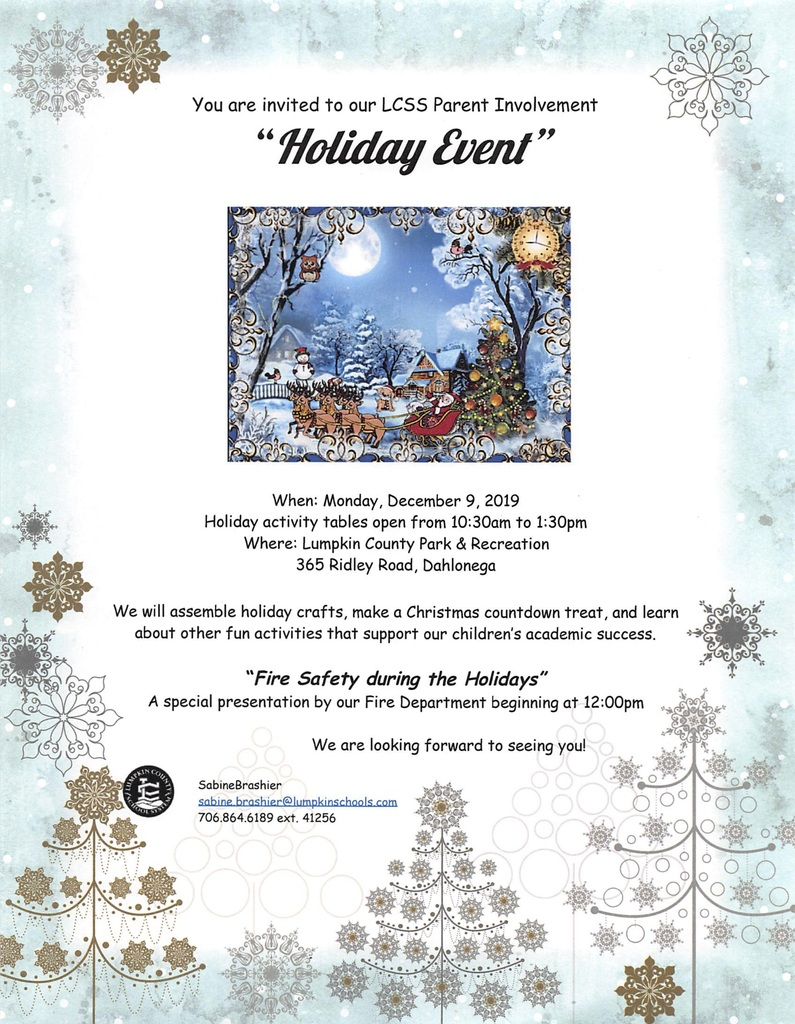 holiday event invitation