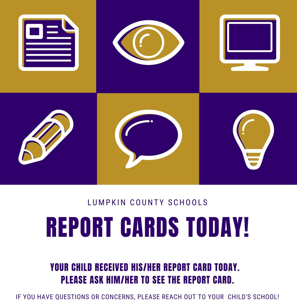 Report card announcement