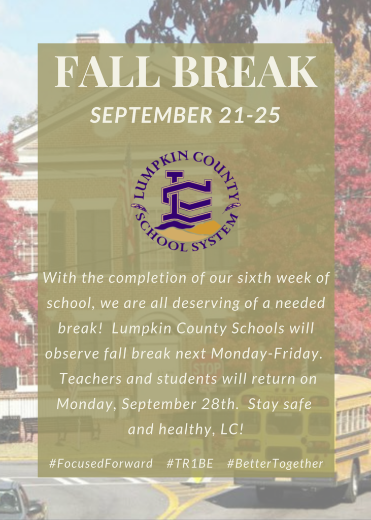 Fall Break Announcement